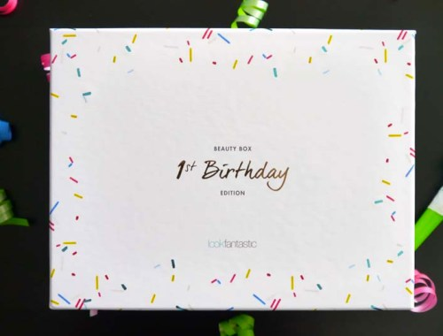 Look Fantastic 1st Birthday beauty box - le récap ! -Photo à la Une - Charonbelli's blog mode