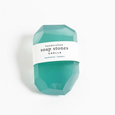 PELLE SOAP Savon Aquamarine-Camphor, Brooklyn Rive Gauche au Bon Marché - Charonbelli's blog mode