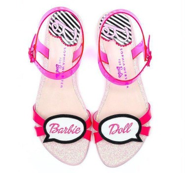 Sophia Webster Barbie leather flat sandals - Charonbelli's blog mode