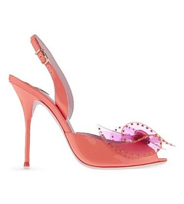 Sophia Webster Barbie leather sandals - Charonbelli's blog mode