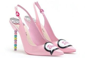 Sophia Webster Barbie tyra patent slingback heels - Charonbelli's blog mode