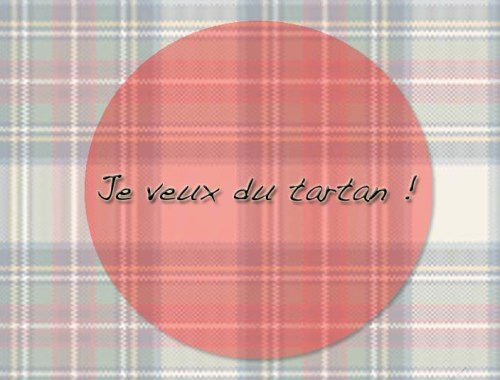 Je veux du tartan ! - Photo à la Une - Charonbelli's blog mode