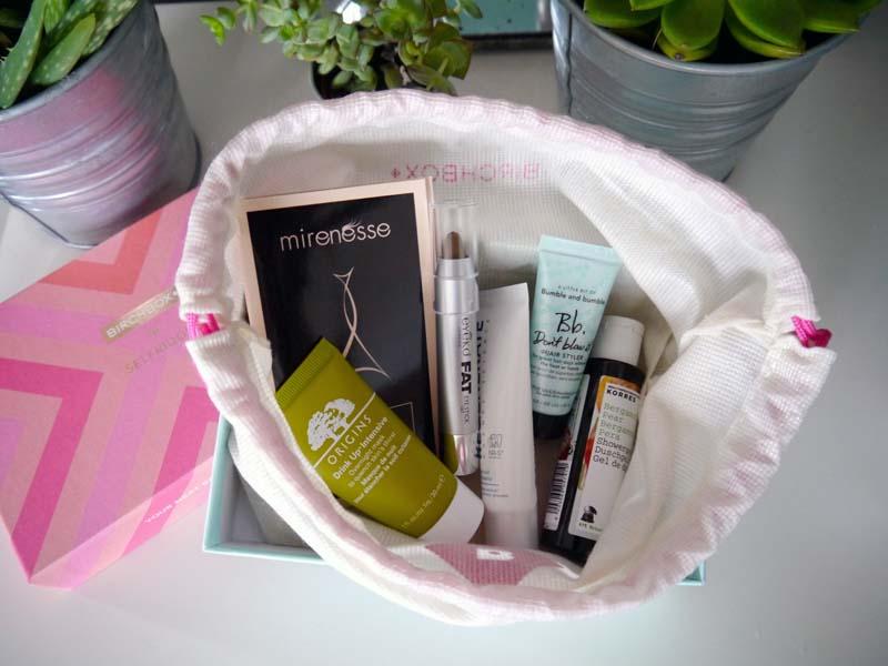 Le récap' de ma Birchbox Selfridges - Charonbelli's blog beauté