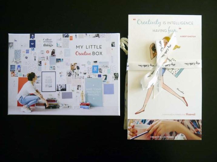 My Little Box créative du mois d'octobre - Charonbelli's blog beauté