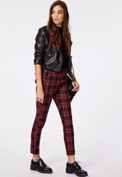 Pantalon cigarette à carreaux Missguide - Charonbelli's blog mode