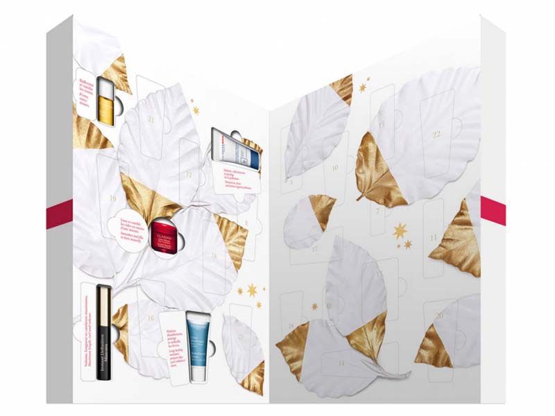 Calendrier de l'Avent Clarins - Je veux un calendrier de l'Avent beauté ! - Charonbelli's blog beauté