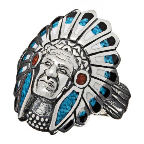 bagues-amerindiens-turquoise-argent-unisexe Harpo - Charonbelli's blog mode