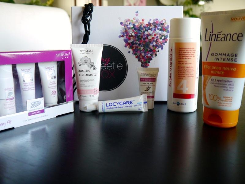 Le récap de My Sweety box de Décembre - Charonbelli's blog beauté