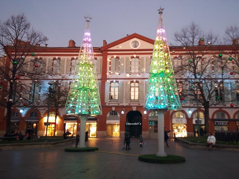Mon Toulouse pendant les fêtes - Place Saint Georges - Charonbelli's blog mode et beauté