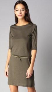 Robe t-shirt kaki Sessun - Charonbelli's blog mode