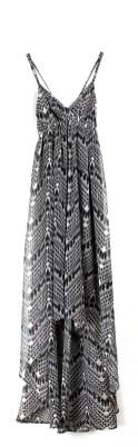 Robe longue LUNE BLACK Le temps des cerises - Charonbelli's blog mode