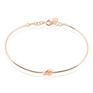 Bracelet-Ania-Argent-Rose-Charonbellis