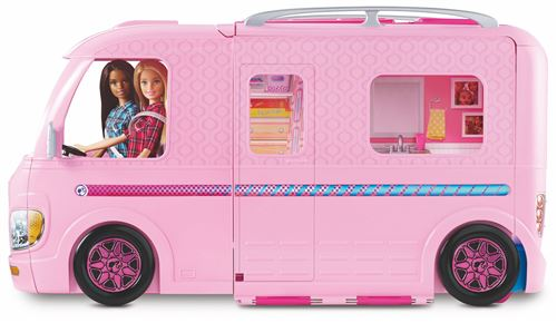 Playset-Barbie-DreamCamper-Camping-Car-Transformable-Charonbellis