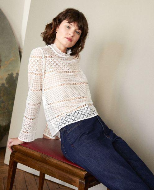 Off-white-blouse-dentelle-Comptoir-des-Cotonniers-Charonbellis