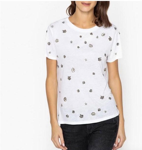 T-shirt-perle-The-Kooples-Charonbellis