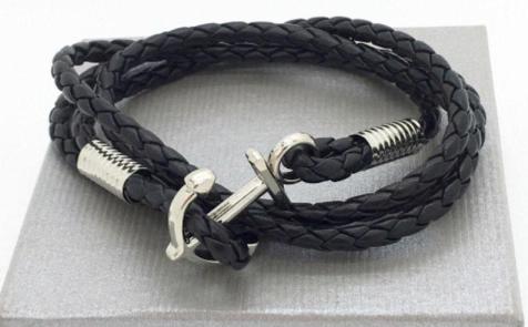 Bracelet-homme-encre-marine-ETSY-Charonbellis