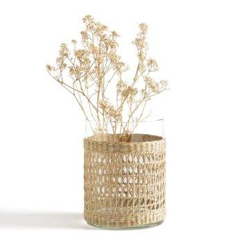 Vase-en-verre-tressage-Kezia-La-Redoute-Intérieurs-Charonbellis