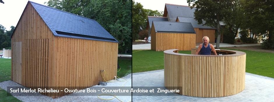 mobilier exterieur bois wood structure