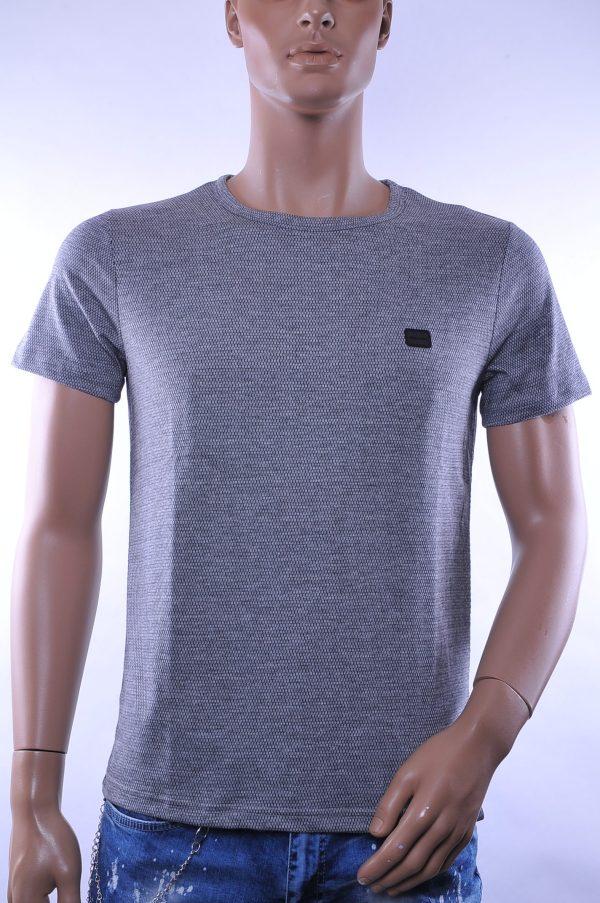 D&A trendy ronde hals heren T-Shirt, D075 Grijs