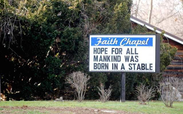 Church sign sayings 5
