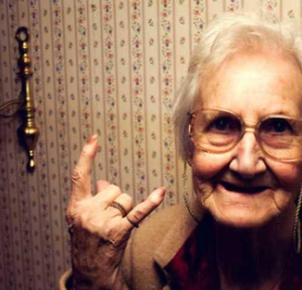 Cute Grandma