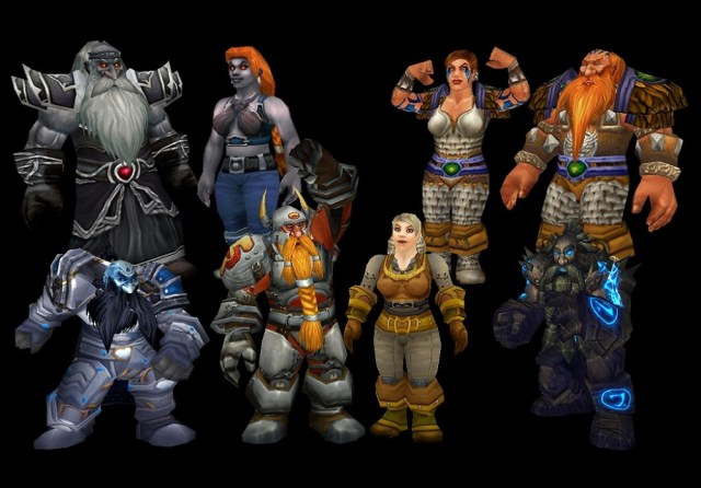 Paladin names for females, Taurens, Dwarfs