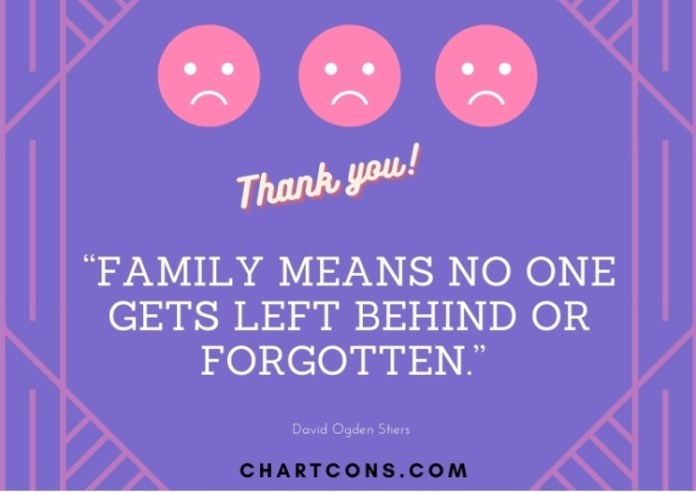 Family Thank You Notes