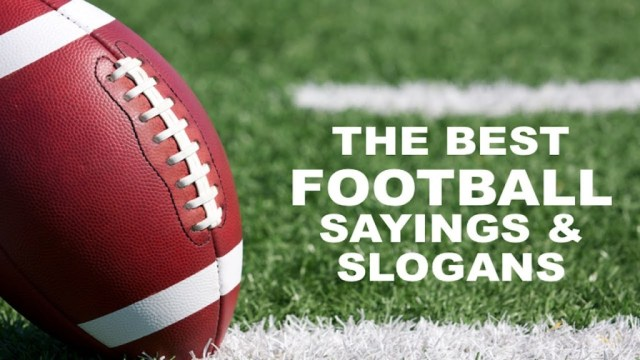 Football Sayings 2