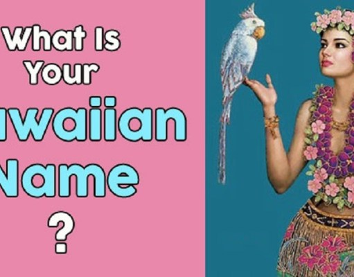 Hawaiian Names For Girls And Boys