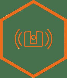 laser scanner icon graphic