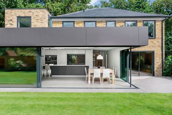 modern rear extension