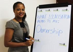'We need localisation to increase ownership' Brenda Moore, KEEP, Nairobi 19.02.16
