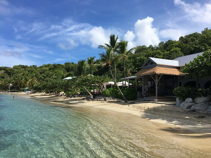 Cooper Island beach
