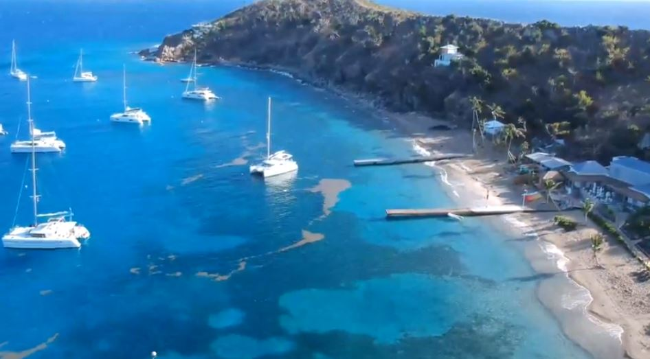 Cooper Island bay view