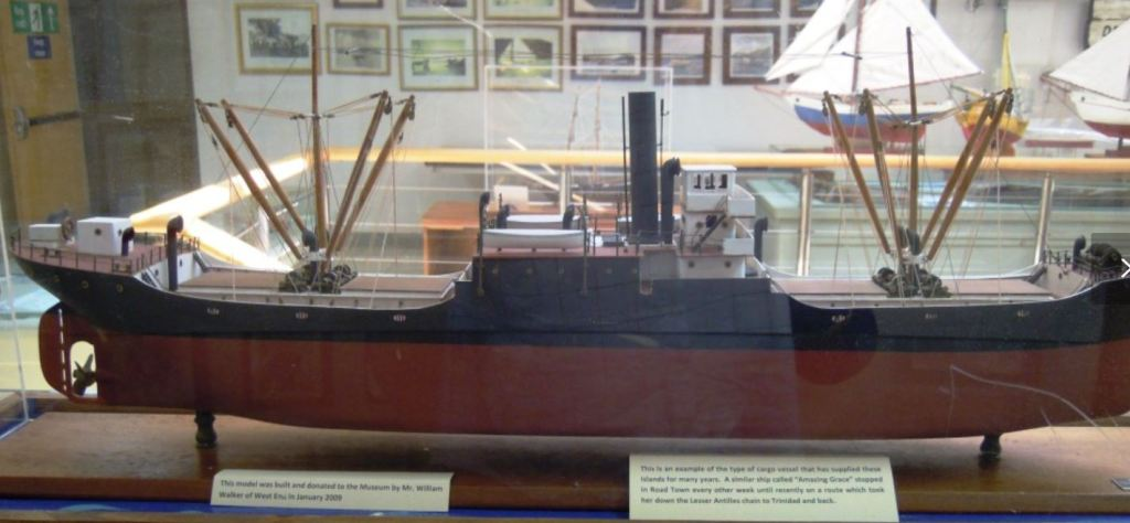 Virgin Islands Maritime Museum display