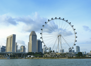 Singapore Flyer, the world's largest observation wheel