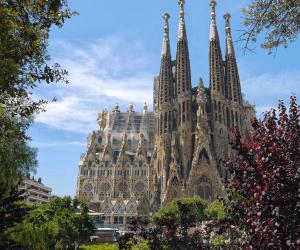 The famous catholic church, La Sagrada Family