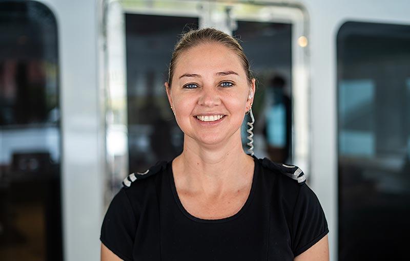 Stewardess, Annerize Bezuidenhout