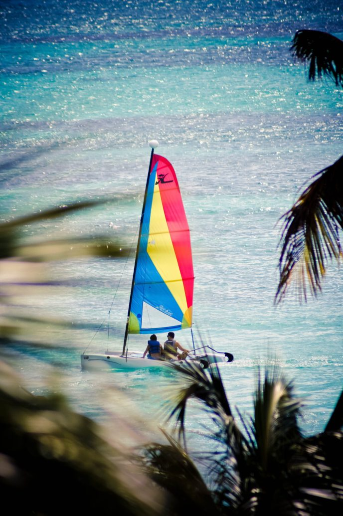 Aruba Sail Boat