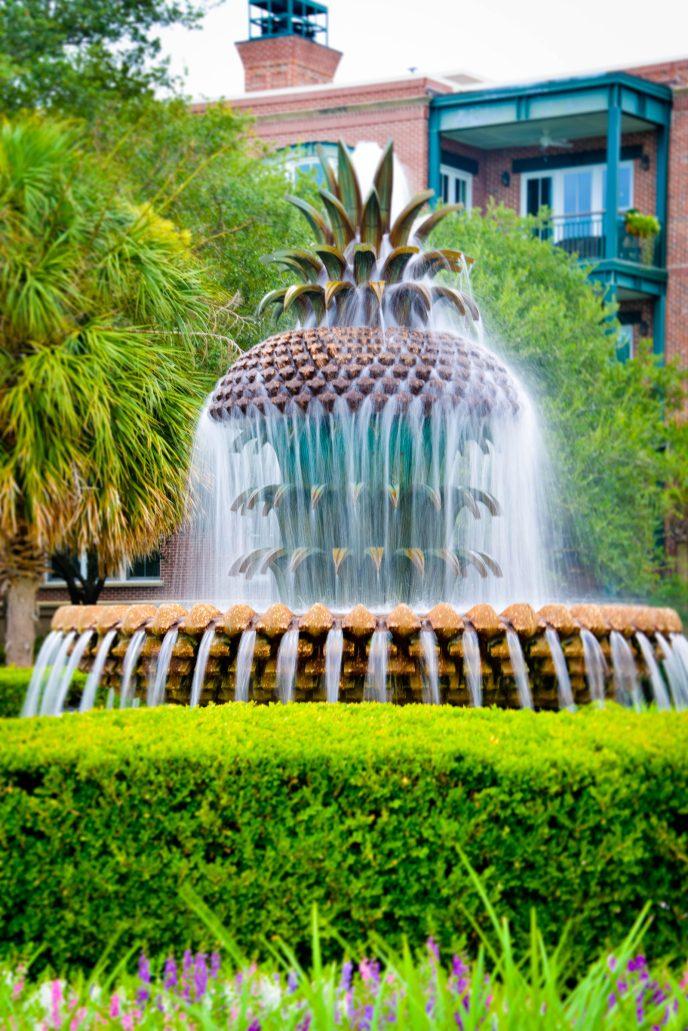 Pineapple Fountain Charleston South Carolina