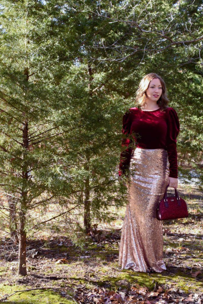 Fall Fashion Outdoor Portrait