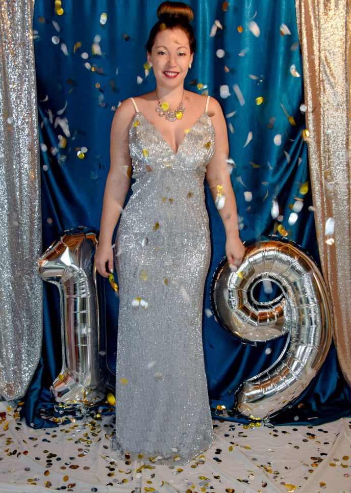 New Year's Eve Sequin Glitter 2019
