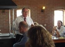 Richard Earngey giving speech of thanks