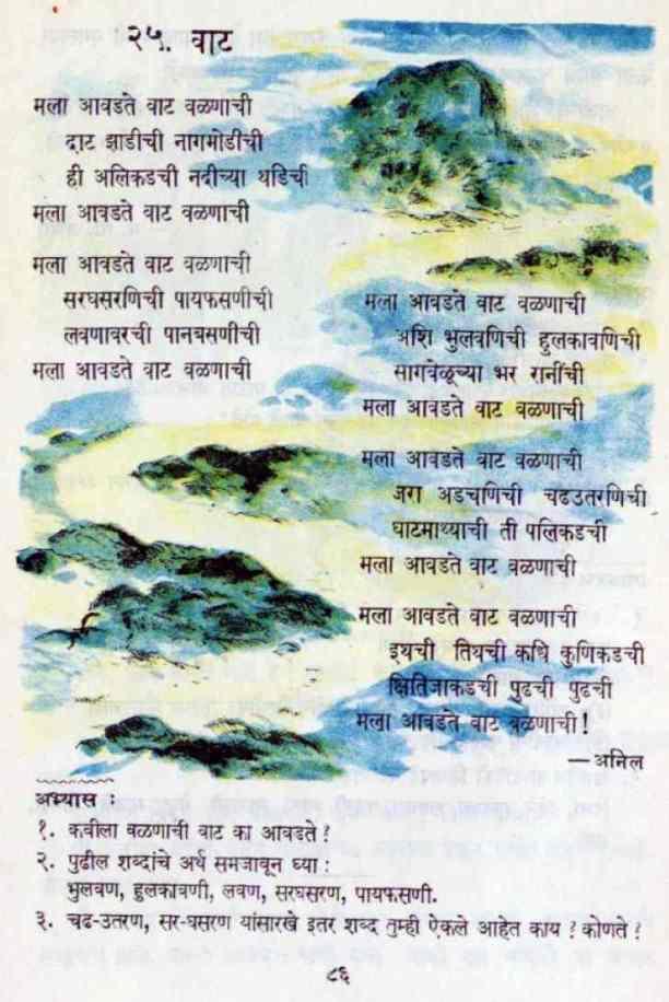 Mala Aavadate Vaat Valanachi - मला आवडते वाट वळणाची