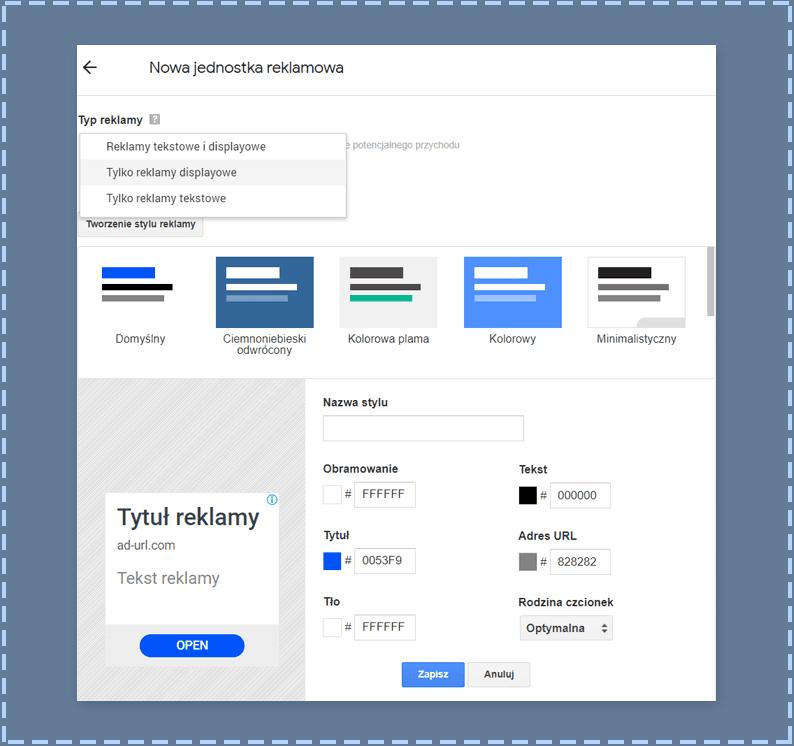 AdSense - dodawanie reklam do WordPressa 4