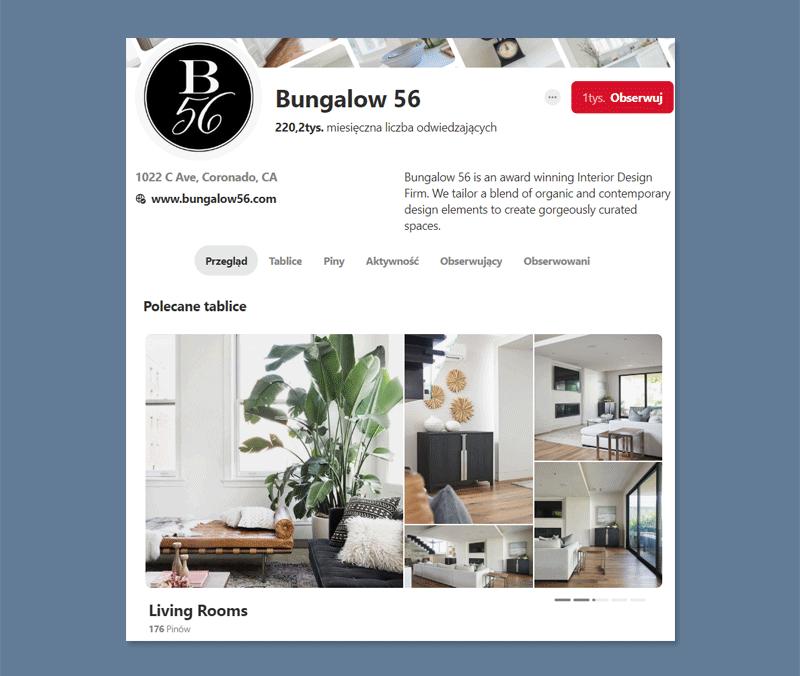 Jak wypromować lokalną firmę w internecie? Pinterest