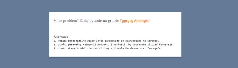 kurs facebook analytics