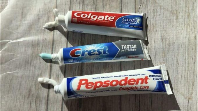 13 Ways to Clean with Toothpaste by Chas' Crazy Creations