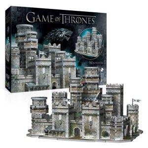 3d Puzzel van Winterfell uit Game of Thrones
