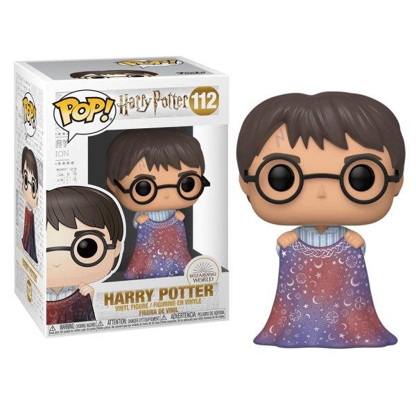 Funko Pop van Harry Potter with invisibility Cloak uit Harry Potter 112